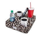 Cup Cozy 5 Hole Cheetah