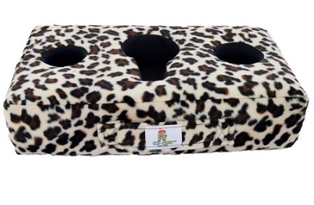 Cup Cozy Pillow Cheetah