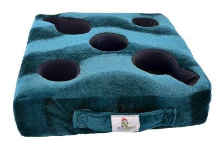 Cup Cozy Deluxe Pillow Teal