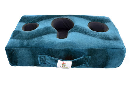 Cup Cozy Pillow Extra Cover Only Teal  (Includes Cup Cozy Coasters)