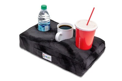 Cup Cozy Pillow Black
